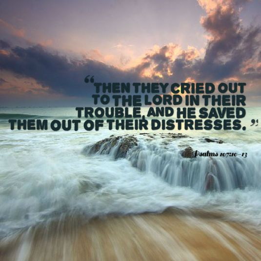 They cried out to God
