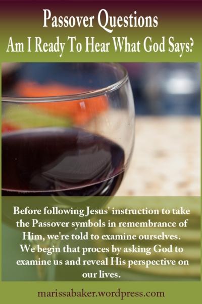 "click to read article, ""Am I Ready To Hear What God Says?"" | marissabaker.wordpress.com"