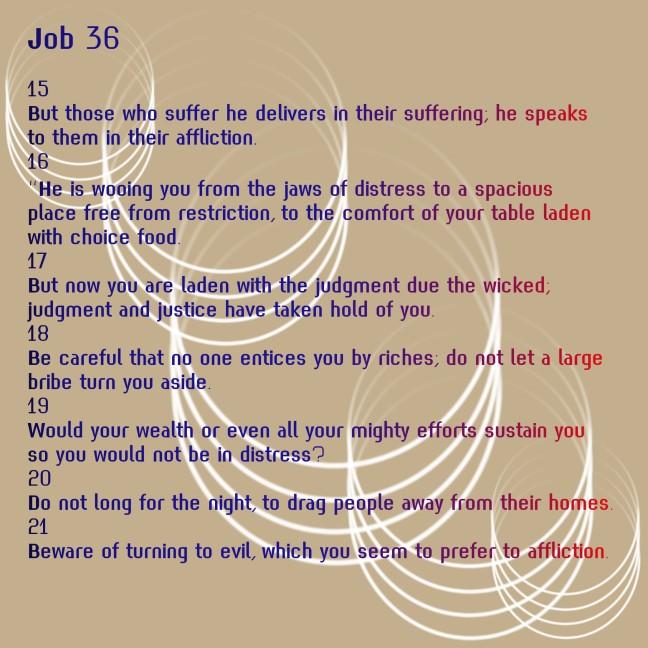 Job 36-15