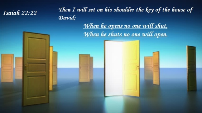 """God opens the door for U"""
